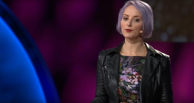 Eva Galperin, directrice de la cybersécurité à l'Electronic Frontier Foundation.