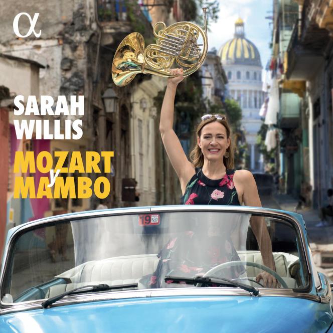 Pochette de l'album«Mozart y Mambo», de Sarah Willis.