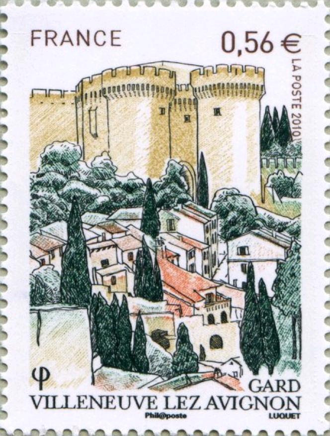 « Villeneuve-lez-Avignon Gard», par Eve Luquet (2010).