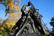 Le monument aux Héros de l'armée noire, à Reims, le 5novembre 2018.