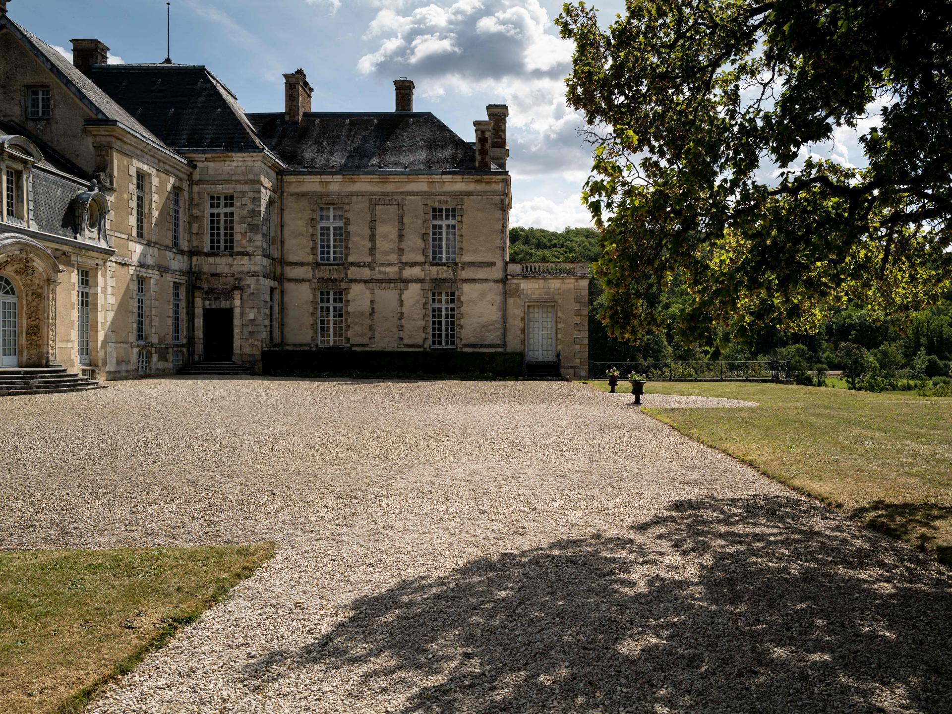 Le château d'Emilie du Châtelet, àCirey-sur-Blaise (Haute-Marne), où Voltaire s'installe dès 1734.