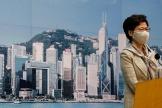 La cheffe de l'exécutif Carrie Lam est visée par les sanctions.