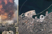 Explosion à Beyrouth le 4 août.