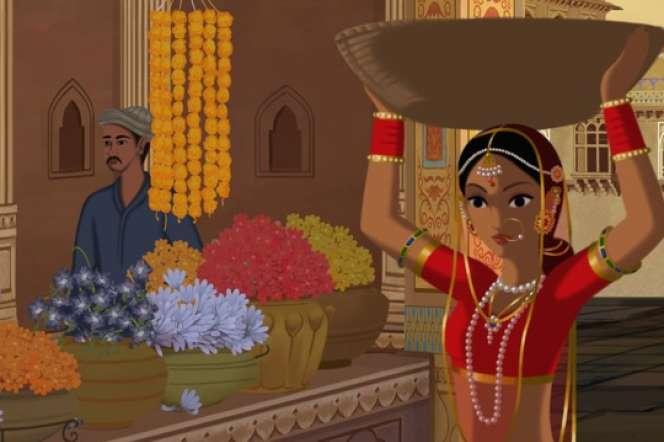 «Bombay Rose»,film d'animation de l'Indienne Gitanjali Rao.