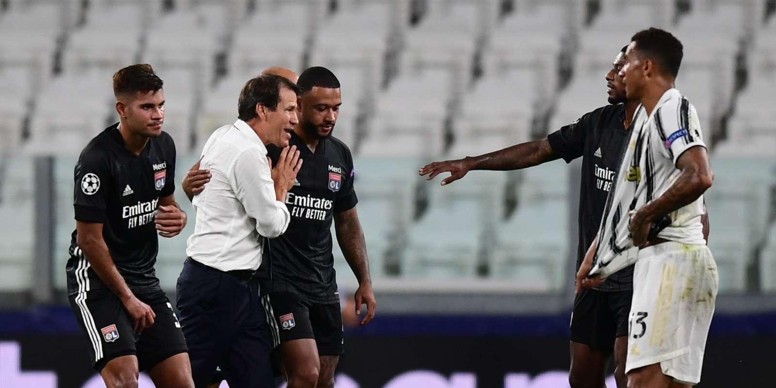 Rudi Garcia et ses joueurs peuvent exulter : ils ont éliminé la Juventus à Turin.