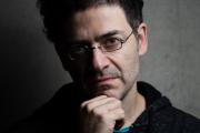 Wajdi Mouawad, auteur, réalisateur et comédien avant une conférence, «Par héritage» à l'université de Strasbourg, le 7 mars 2016.