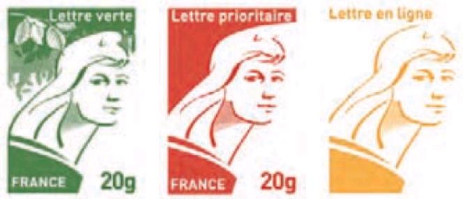 Projet de timbre d'usage courant« Marianne» (2013).