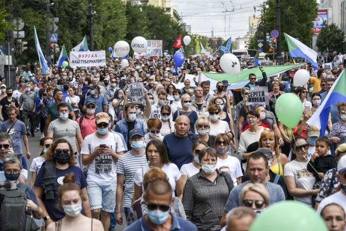 Les habitants de Khabarovsk estiment que l'arrestation de Sergueï Fourgal, pour des meurtres présumés perpétrés en 2004-2005, est politiquement motivée.