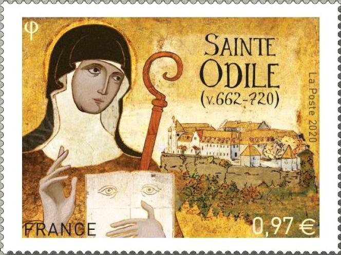 Le dernier timbre-poste créé par Stéphane Humbert-Basset, en vente depuis le 6 juillet.
