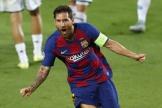Messi a guidé les siens vers les quarts de finale de la Ligue des Champions.