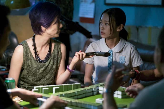 Elena Kong et Huang Yao dans« The Crossing », de Bai Xue.