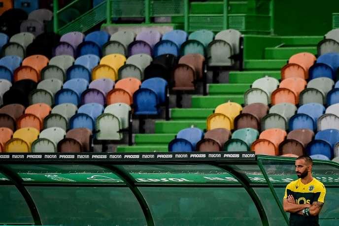 Au stade José Alvalade de Lisbonne, le 21 juin.