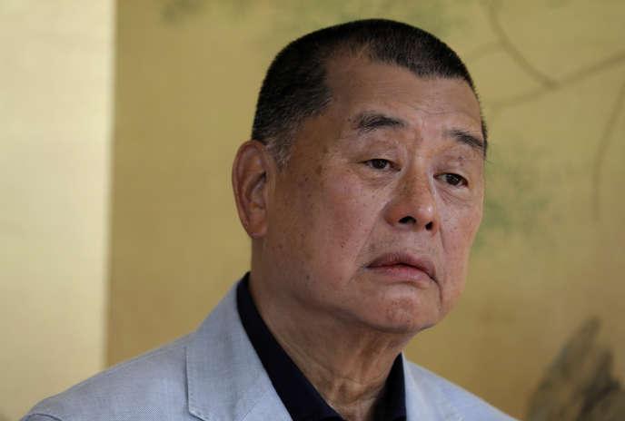 Jimmy Lai, le 1er juillet, à Hongkong.