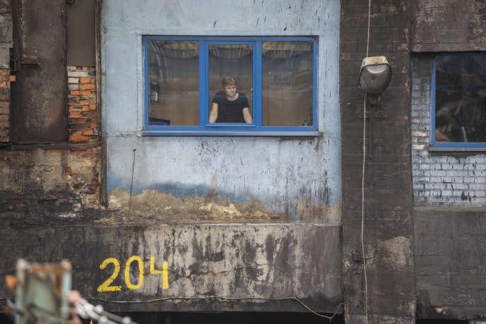 Dans la zone de chargement de charbon de la mine de Ruch Zofiowka, à Jastrzebie Zdroj, dans le sud de la Pologne, le 9 juin.
