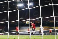 Le joueur de Manchester United, Bruno Fernandes, lors du match contre Copenhague à Cologne (Allemagne), lundi 10 août.