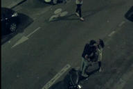 Une image de la vidéo montrant le policier Florian G. et Leïla N., le 19 août 2019 à Paris.