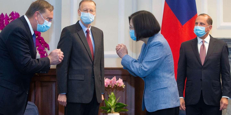 Visite historique d'un secrétaire américain à Taïwan