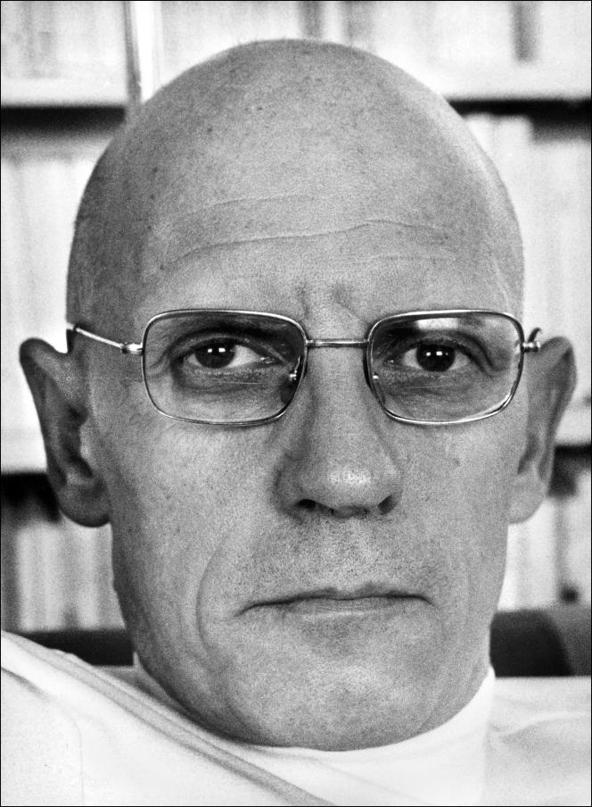 Michel Foucault, photo non datée.