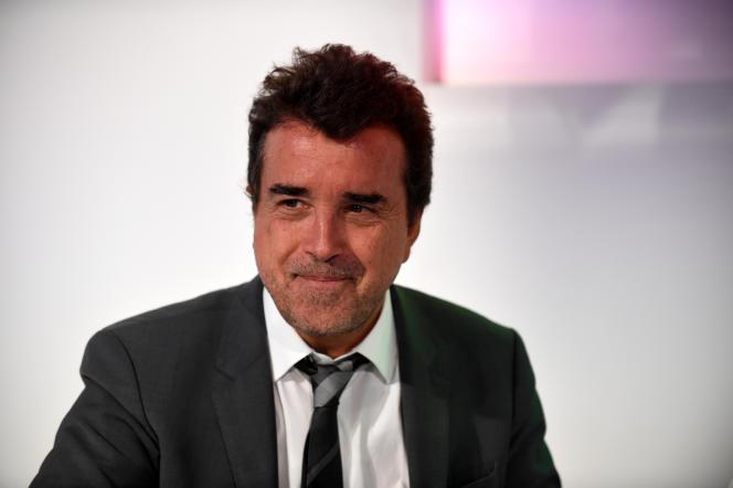 Arnaud Lagardère, à Paris, le 8 mars 2018.