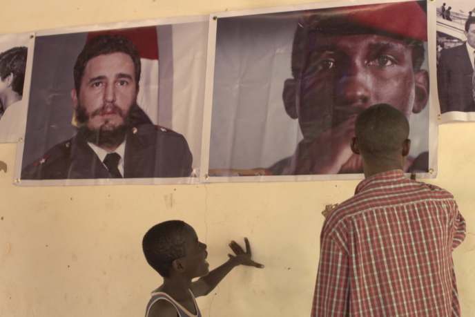 Extrait du documentaire«Les Orphelins de Sankara», de Géraldine Berger.