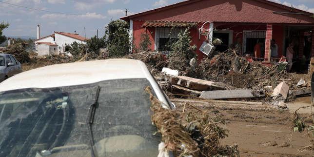 Grèce : inondations meurtrières sur l'île d'Eubée