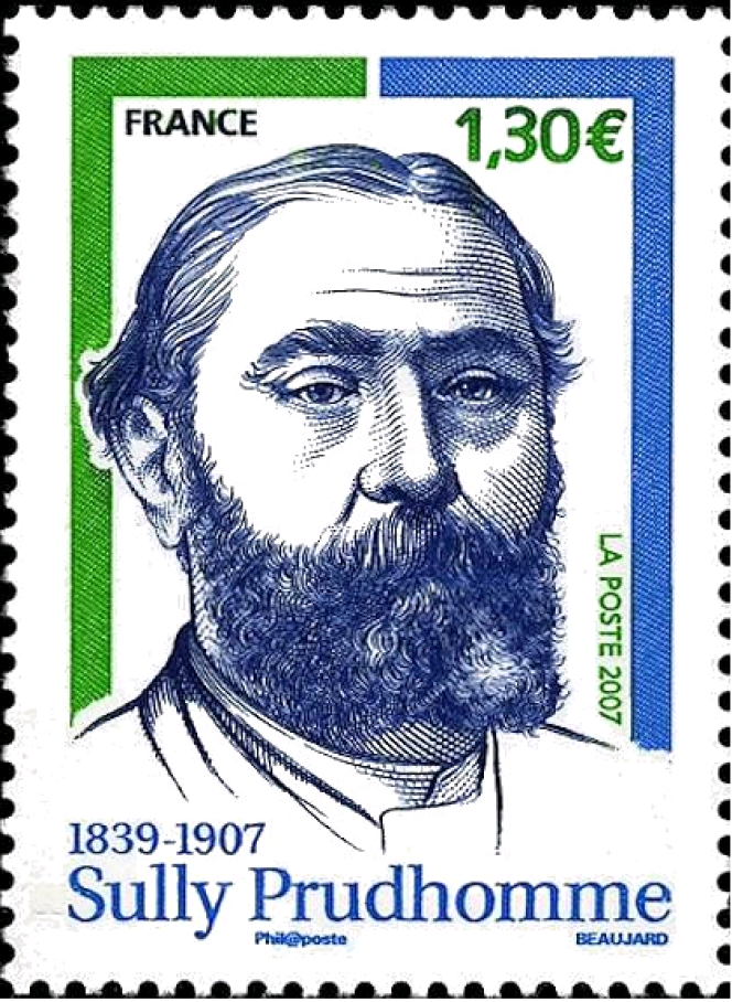 « Sully Prudhomme 1839-1907», dessiné et gravé par Yves Beaujard (2007).