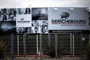 Devant le siège de l'opérateur de services Derichebourg, à Blagnac, près de Toulouse, le 13 mai.