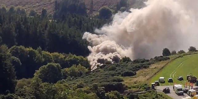 Trois morts dans le déraillement d'un train en Ecosse