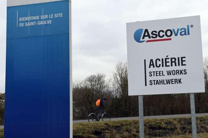 Le site d'Ascoval à Saint-Saulve (Hauts-de-France), en janvier 2018.