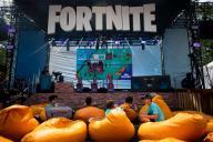 Lors de la finale de la Coupe du monde «Fortnite» à New York, en juillet 2019.