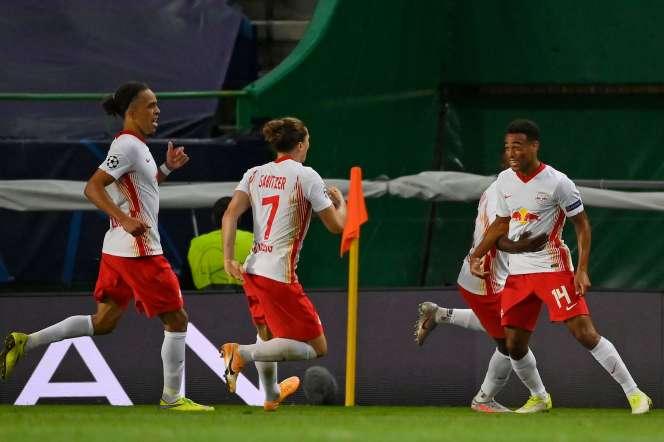 Leipzig s'est imposé grâce à un but de Tyler Adams.