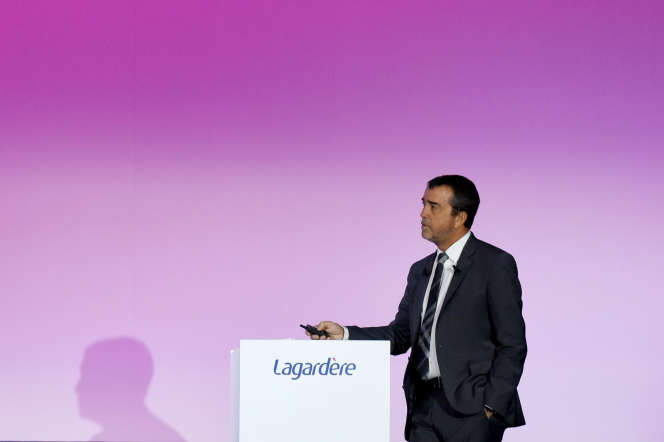 Arnaud Lagardere, le 10 mai 2019.