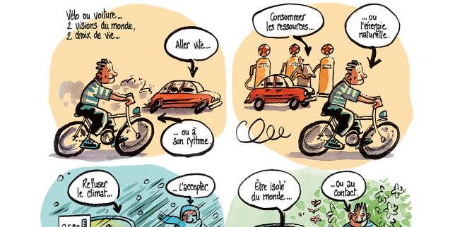 Didier Tronchet: «Les vertus pacifiques du vélo de curé ont été perverties par la volonté de conquête»