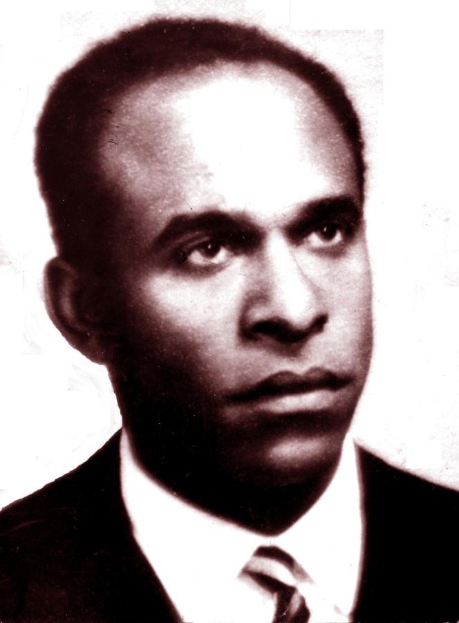Lepsychiatre et écrivain martiniquais Frantz Fanon (1925-1961).