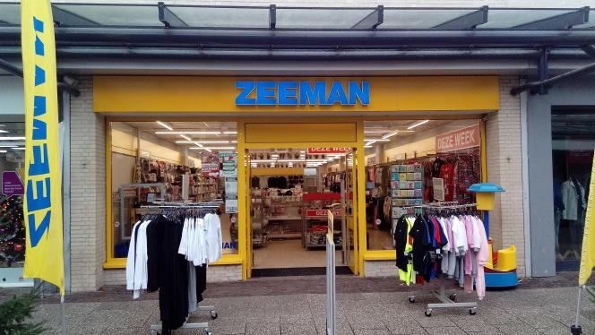 Un magazin Zeeman à Veendam (Pays-Bas), en 2018.