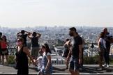 Dans le quartier de Montmartre à Paris, le 11 août.