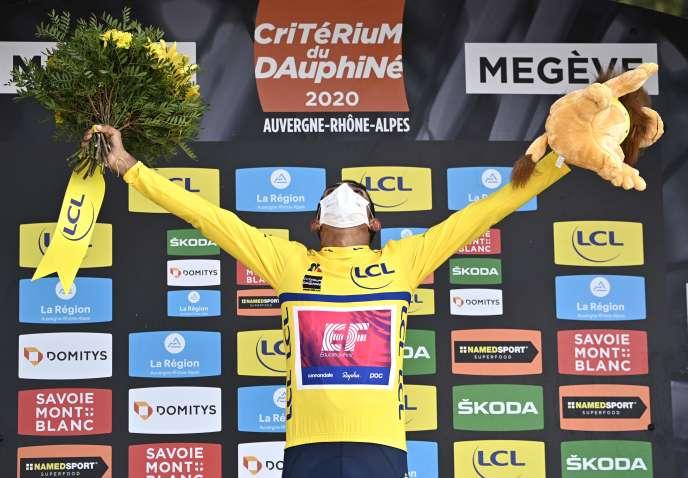 Le Colombien Daniel Martinez a remporté la 72e édition du Critérium du Dauphiné, le 16 août à Megève.