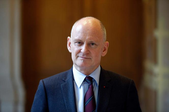 L'adjoint à la mairie de Paris,Christophe Girard, en 2013 à Paris.