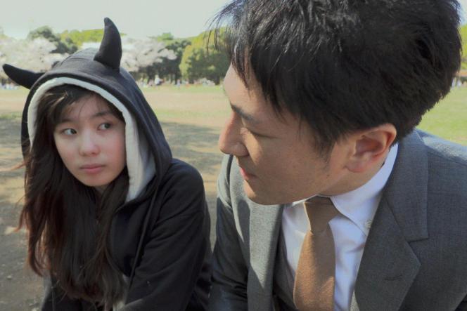 Yuichi Ishii et Mahiro Tamimoto dans« Family Romance, LLC », deWerner Herzog.