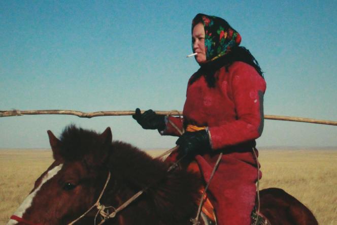 Dulamjav Enkhtaivan,une vraie bergère mongole, joue un rôle très proche du sien dans le nouveau film deWang Quan'an.