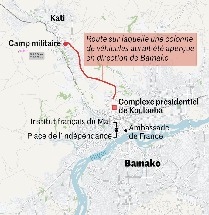 Coup d'Etat au Mali, mardi 18 août 2020.