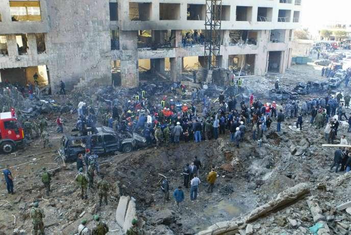 L'ancien Premier ministre libanais Rafic Hariri a été tué dans une explosion le 14 février 2005 à Beyrouth.