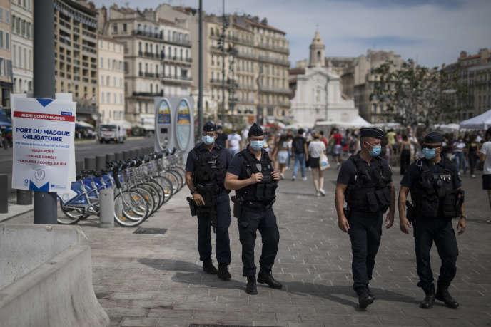 A Marseille, le 18 août.