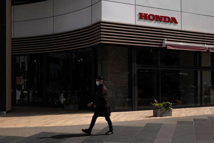 Un showroom Honda à Tokyo, le 12 mai 2020.