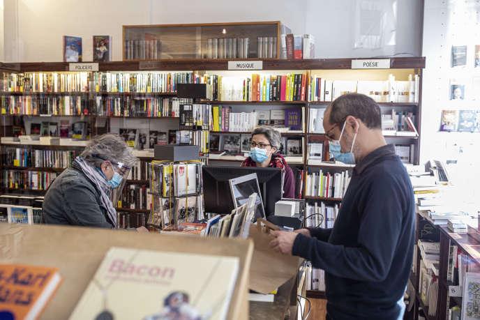 La librairie L'Humeur vagabonde, à Paris 18e.
