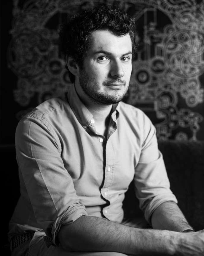 Matthieu Maisons, fondateur des chips Belsia, en juillet 2020, à Paris.