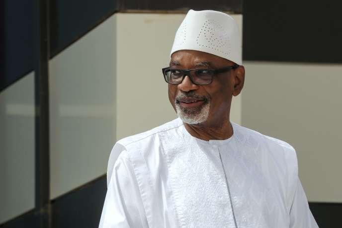 Ibrahim Boubacar Keïta, dit« IBK», lors du G5 Sahel, à Nouakchott, en Mauritanie, le 30 juin.
