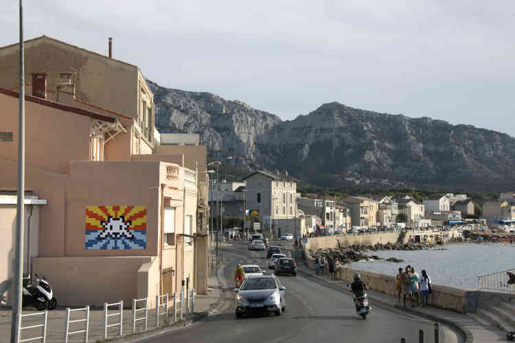 Coucher de soleil dans le quartier de La Pointe-Rouge (MARS_70, Marseille, 2020).