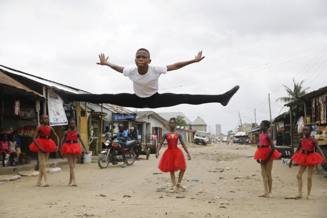 Anthony Mmesoma Madu, élève danseur de 11 ans, à Lagos, le 18 août 2020.