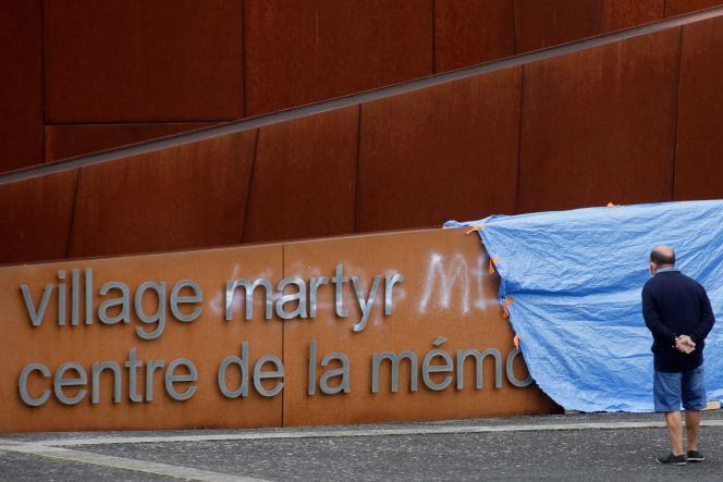 Le Centre de la mémoire d'Oradour-sur-Glane, près de Limoges, où 642personnes ont été massacrées par des SS le 10juin1944.